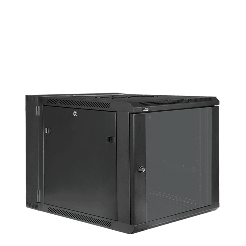 "HPR509 - Double section 19"" wall mountable rack - 9 units - 550mm depth"