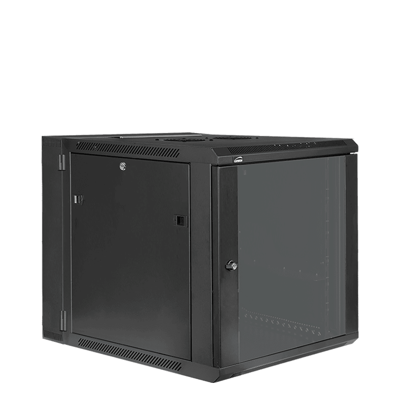"HPR512 - Double section 19"" wall mountable rack - 12 units - 550mm depth"