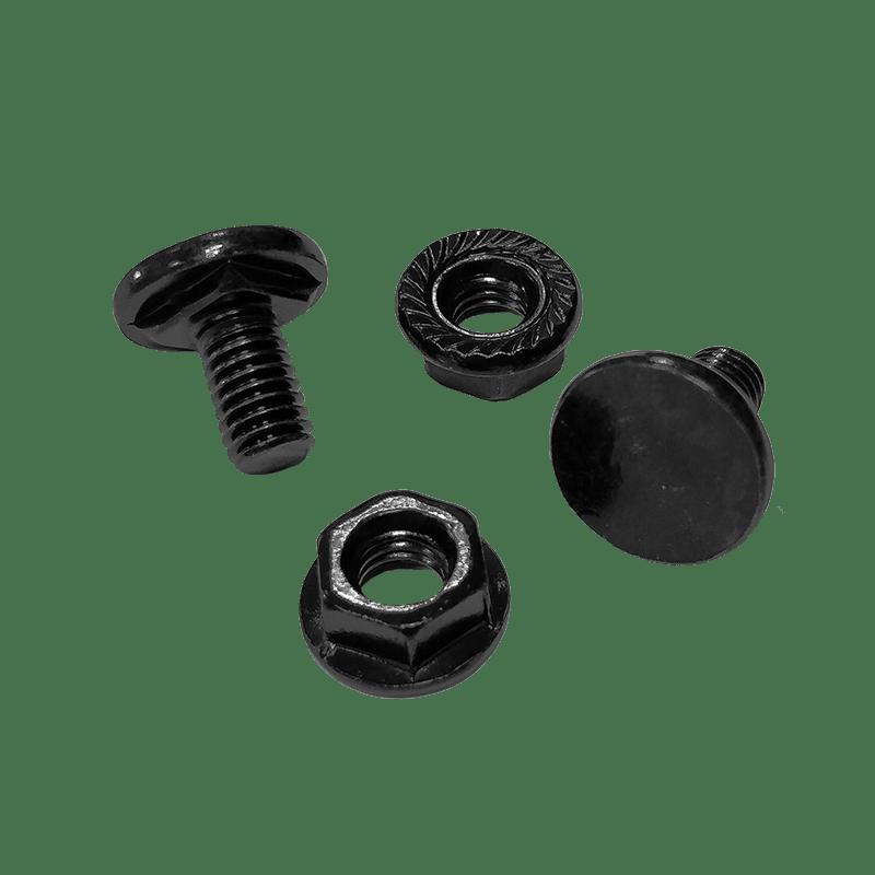 KB600 - Blind bolt M6 x 10 mm + Flange nut / black phosphated