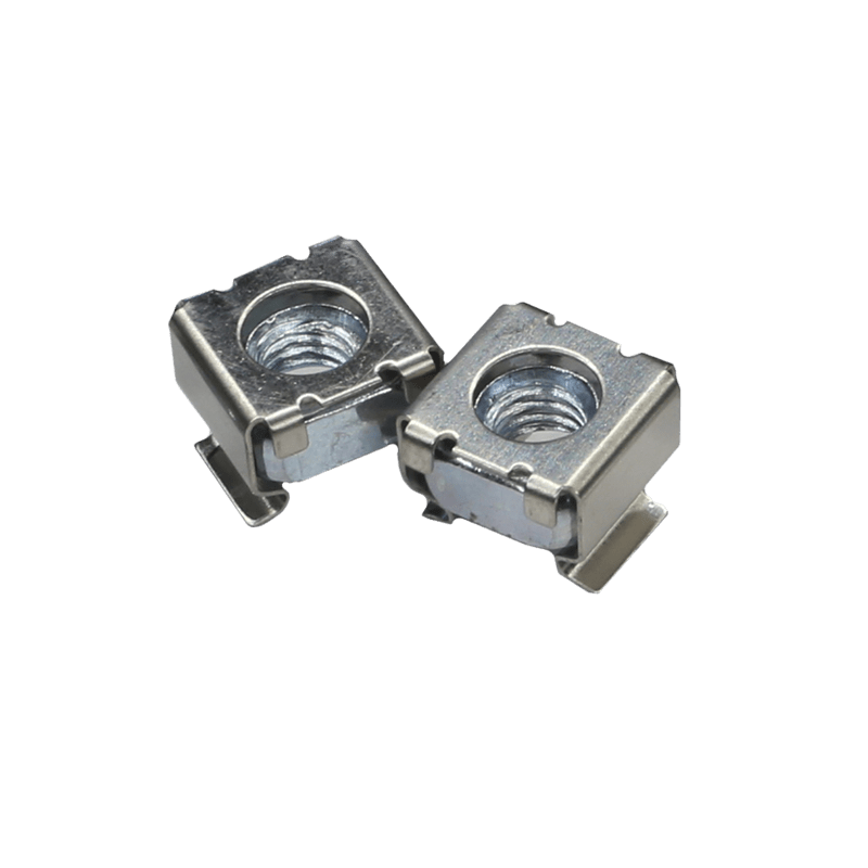 KM500 - M5 cage nut for 0.5 - 2.0 mm plate thickness