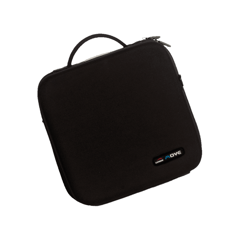 MCD128 - Cd bag that stores 128 cd's, double stitched