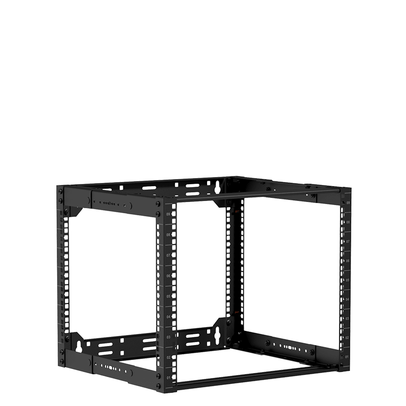 "OPR309A - 19"" in depth adjustable open-frame rack - 9 unit - 300 ~ 450mm"
