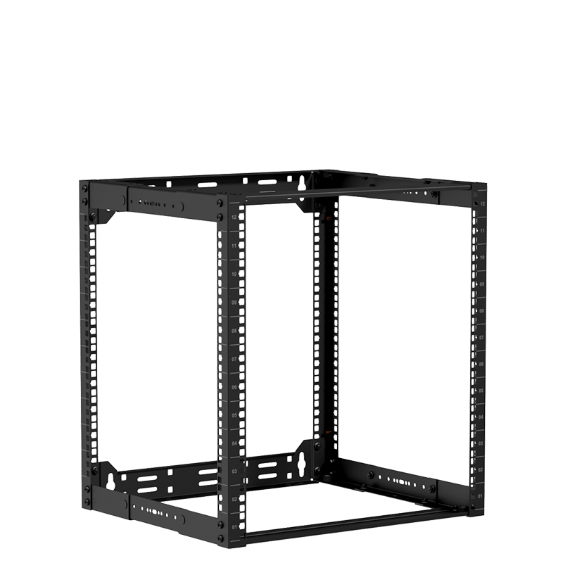 "OPR312A - 19"" in depth adjustable open-frame rack - 9 unit - 300 ~ 450mm"