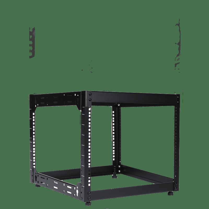 """OPR509 - 19"""" open frame rack - 9 units - 500 mm depth"""
