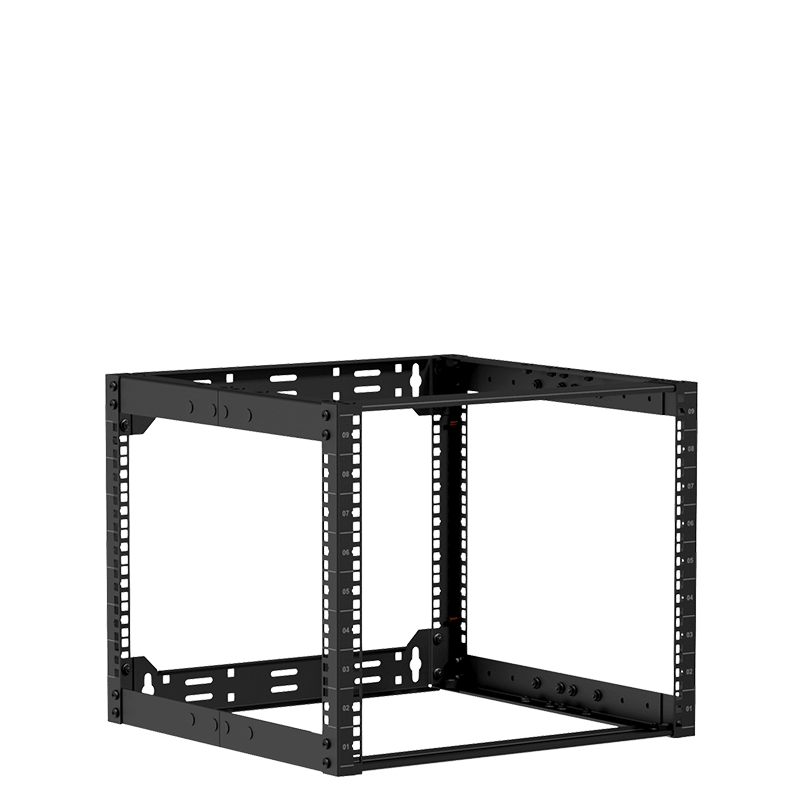 "OPR509A - 19"" in depth adjustable open frame rack - 9 unit - 500 ~ 800mm"