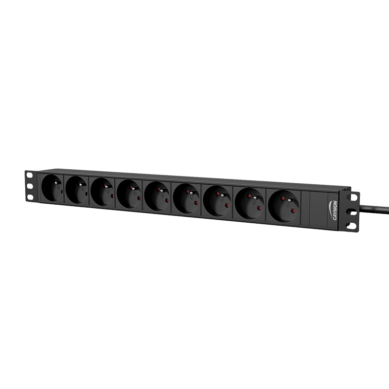 "PSR109F - 19"" power distribution unit - 9 x French sockets"
