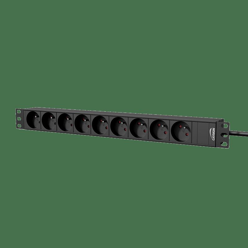 "PSR109F - 19"" power distribution unit - 9 x French sockets"