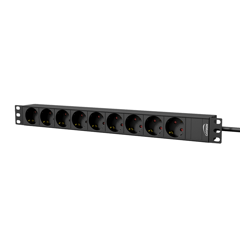 "PSR109G - 19"" power distribution unit - 9 x German sockets"