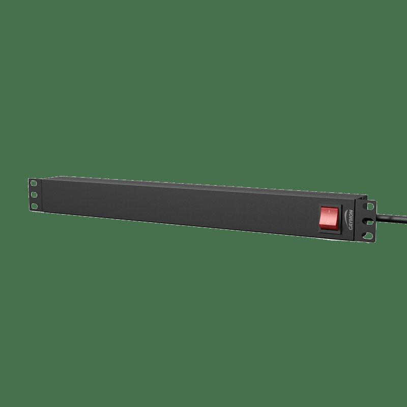 "PSR119GS - 19"" power distribution unit - 9 x German sockets + rear switch"