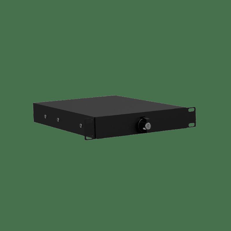 "RDN110L - 10.5"" rack drawer - 1 unit with key lock"