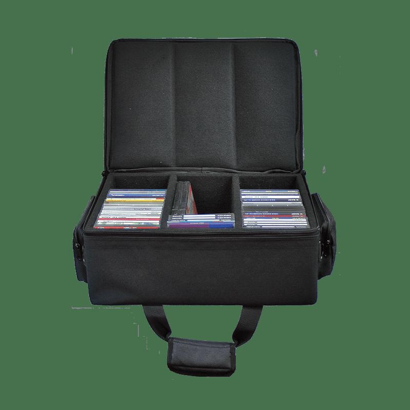 SBAG27 - Solid cd flight case for  75 cd's
