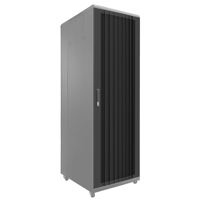 SPR42GC - Convex perforated grill door for 42HE SPR rack cabinet