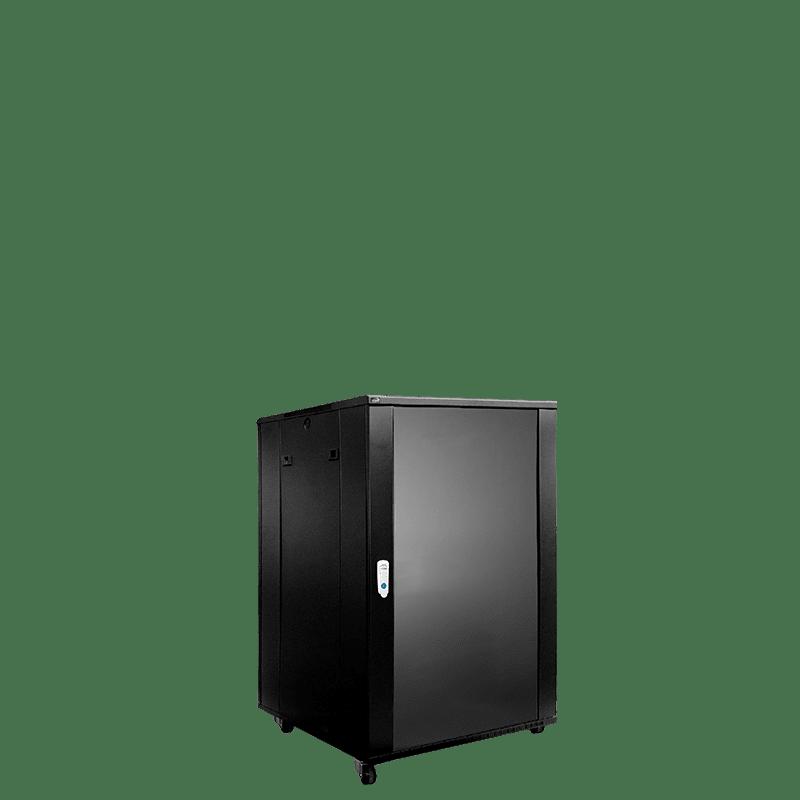 "SPR618 - 19"" rack cabinet - 18 units - 600mm W x 600mm D"