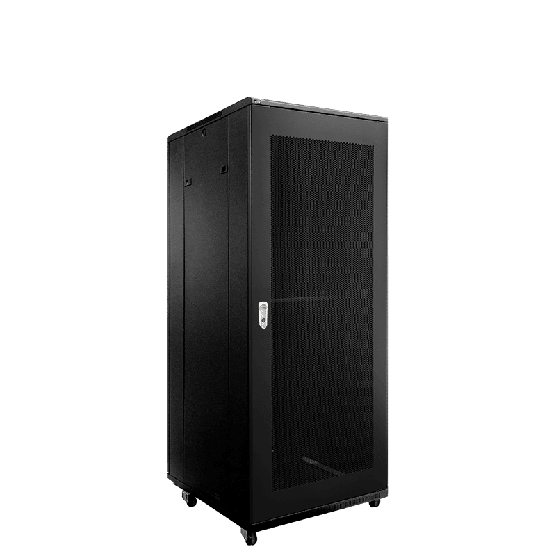 "SPR832GG - 19"" rack cabinet - 32 units - 800mm depth - Grill front & rear door"