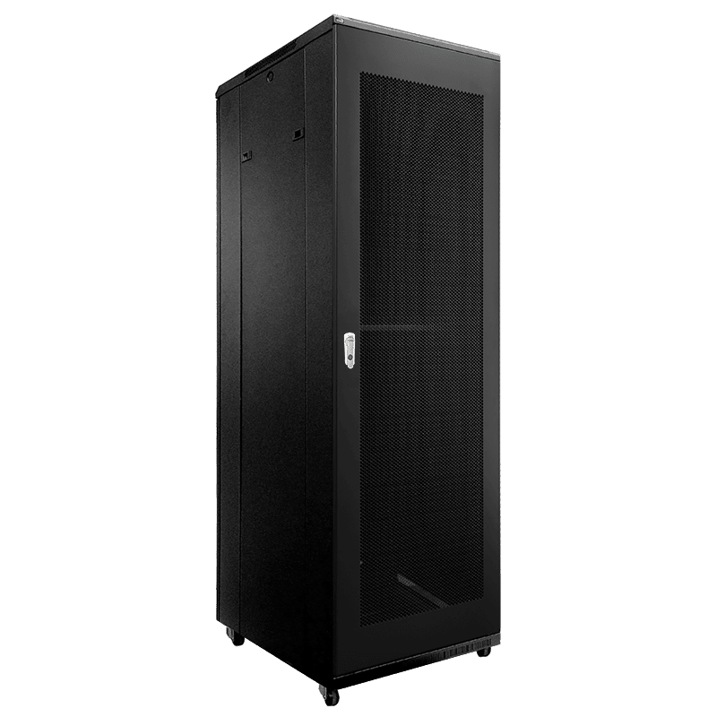 "SPR842GG - 19"" rack cabinet - 42 units - 800mm depth - Grill front & rear door"