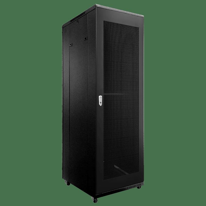 "SPR842GG - 19"" rack cabinet - 42 units - 800mm depth - Grill front & rear door"