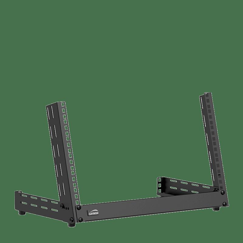 TPR306A - Desktop open frame rack - 6 units - Adjustable angle 0°~15°