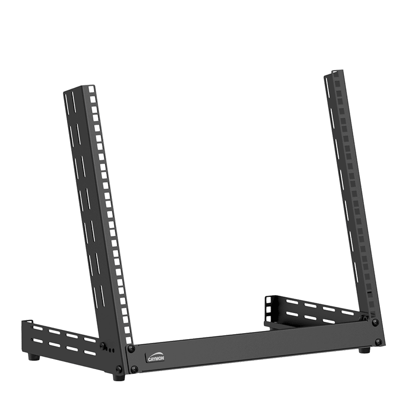 TPR309A - Desktop open frame rack - 9 units - Adjustable angle 0°~15°