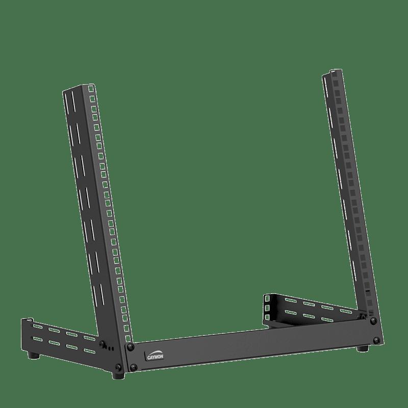TPR309A - Desktop open frame rack - 9 units - Adjustable angle 0°~15°