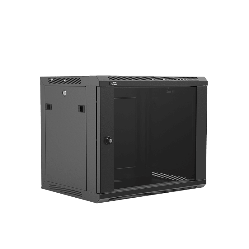 "WPR409R - 19"" wall mount rack - 9 units - 450mm depth - Removable back"