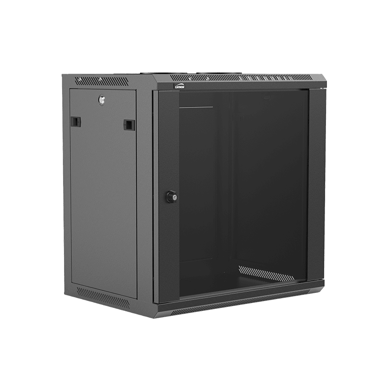 "WPR412R - 19"" wall mount rack - 12 units - 450mm depth - Removable back"