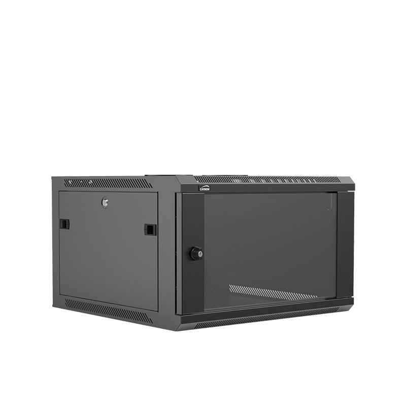 "WPR606R - 19"" wall mount rack - 6 units - 600mm depth - Removable back"