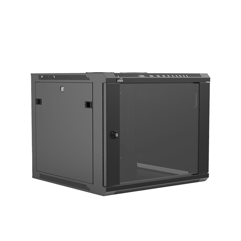 "WPR609R - 19"" wall mount rack - 9 units - 600mm depth - Removable back"