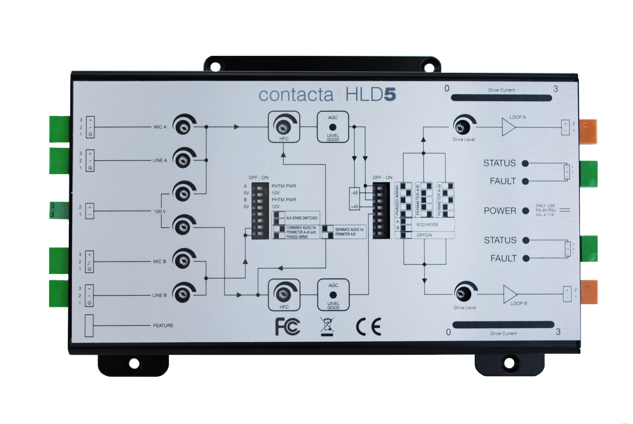 HLD5 - Loop driver 5A RMS, 7V RMS