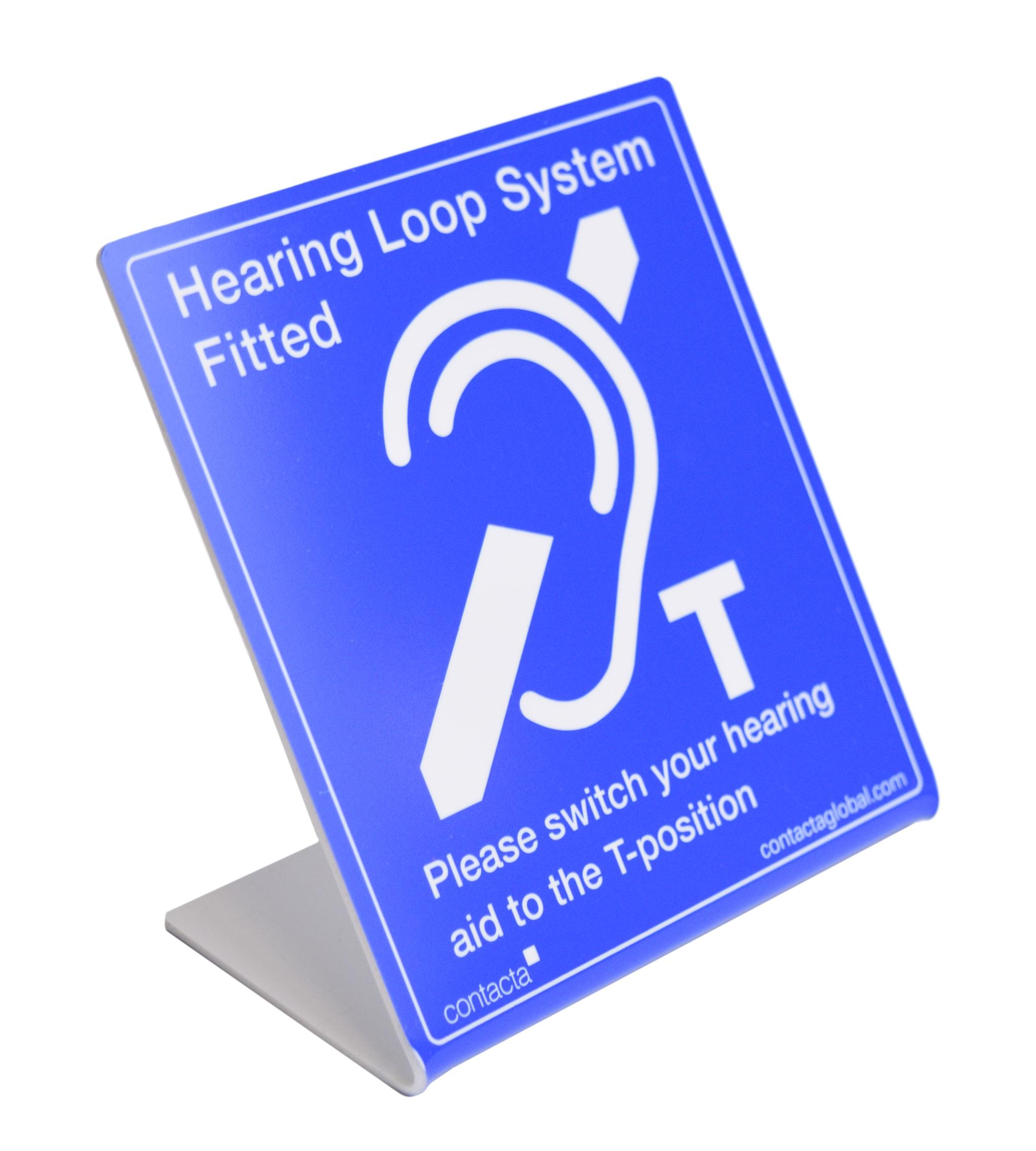 IL-SN - Hearing loop sing