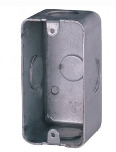 ATTBOX - Flush mount box for ATT30 volume controller