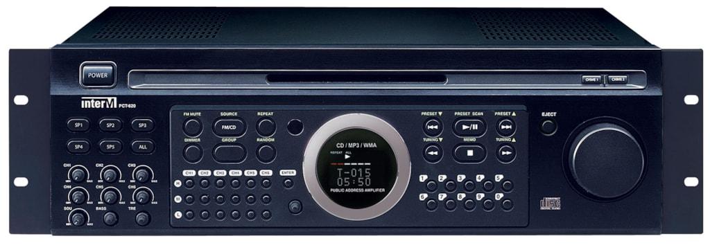 PCT620 - Public address amplifier 240watt