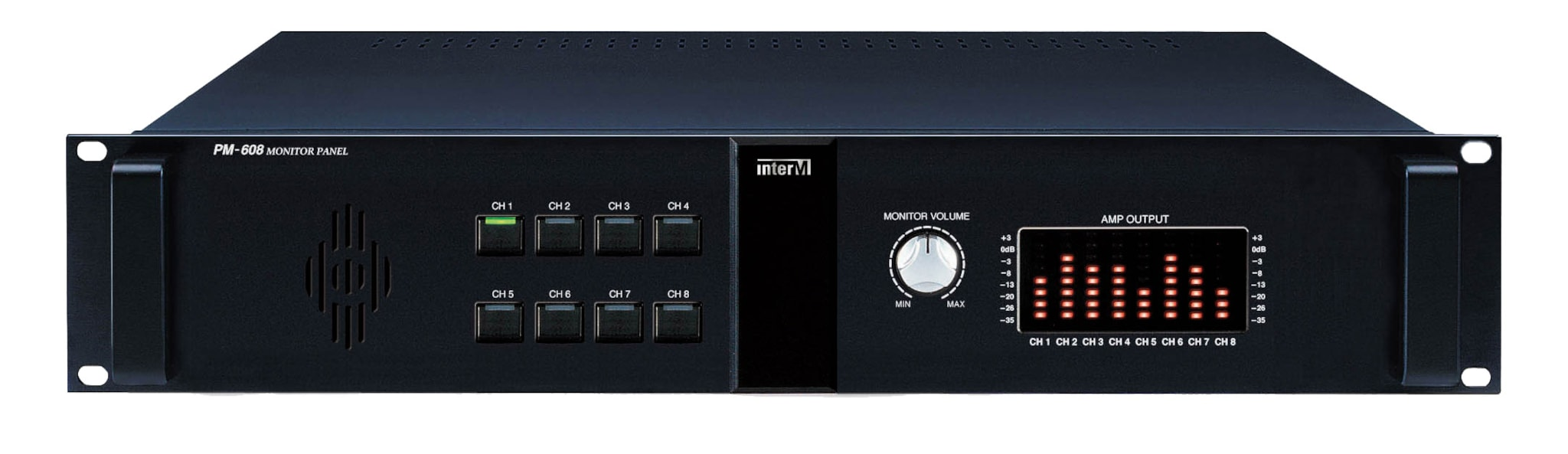 PM608 - 8 channel monitor panel