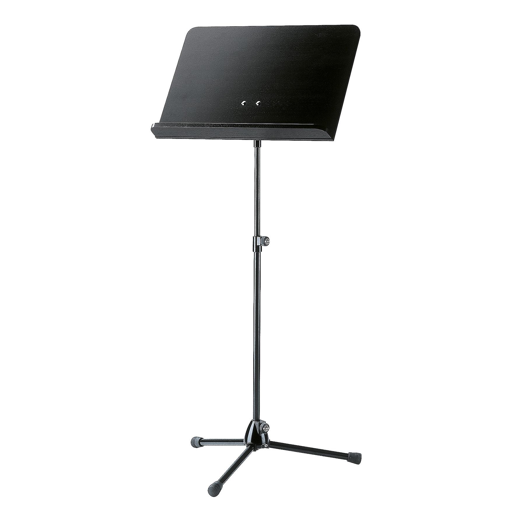 KM11812-000-55 - Black stand, black wooden desk