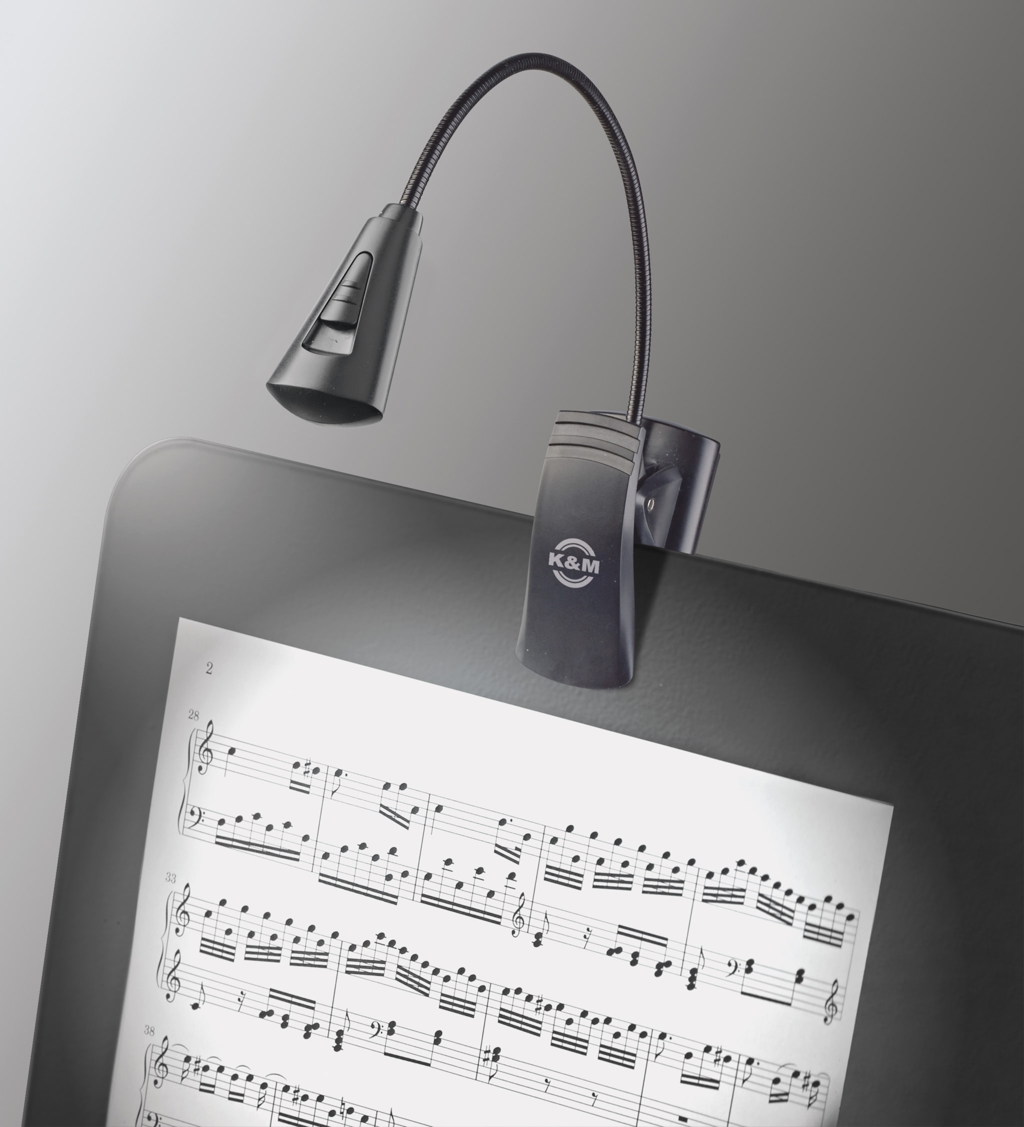 KM12242 - Music stand light »2 LED FlexLight«