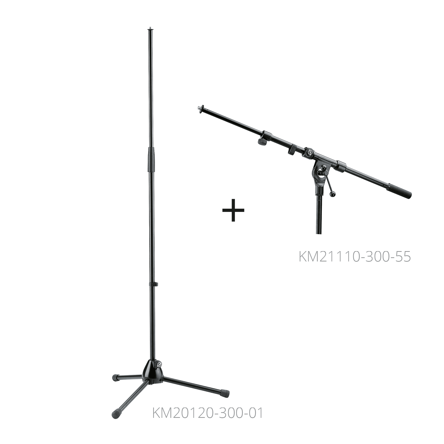 KM21040-300-55 - Microphone stand with boom