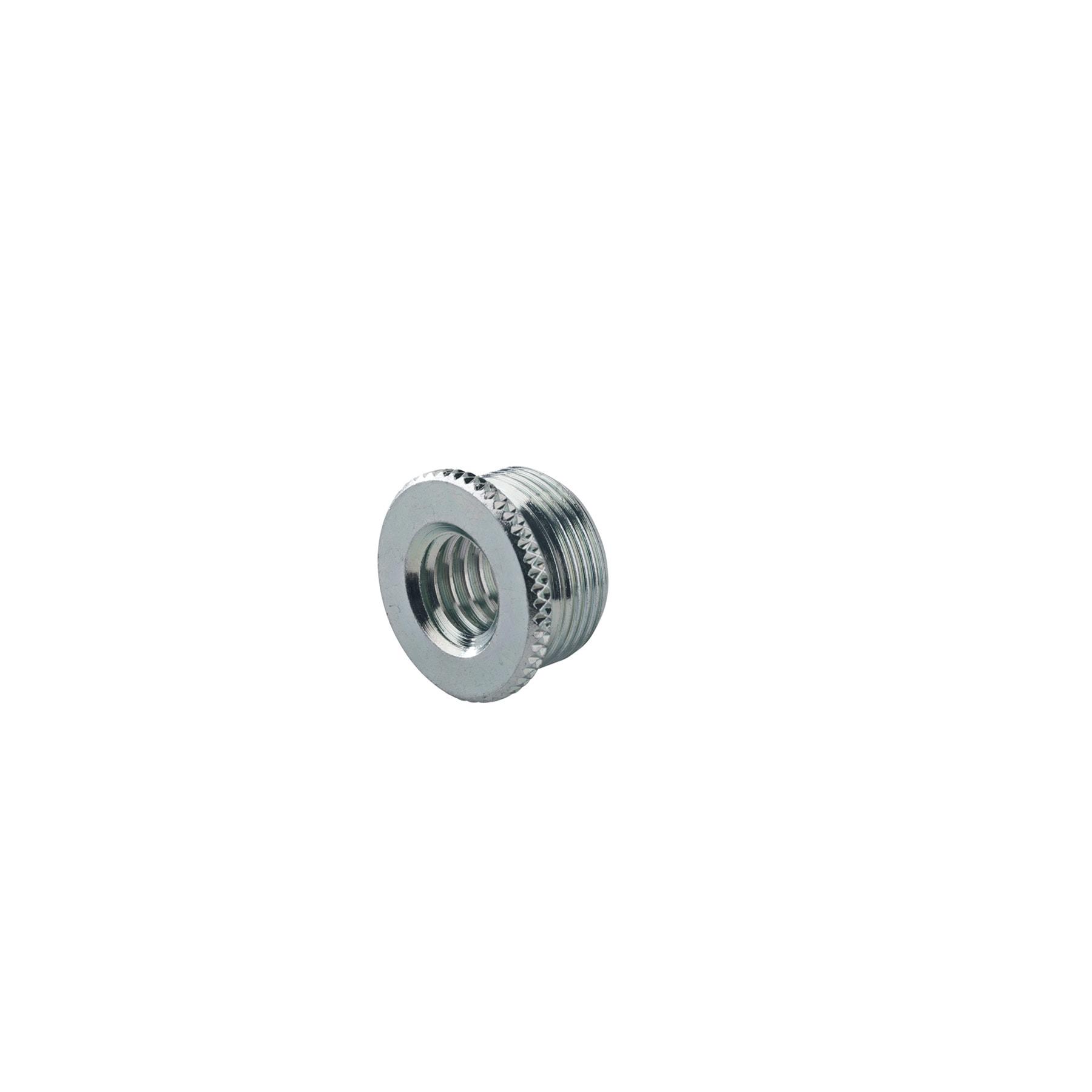 "KM21700-000-29 - thread adapter 3/8"""" female t hread,5/8"""" 27 gauge male tr"