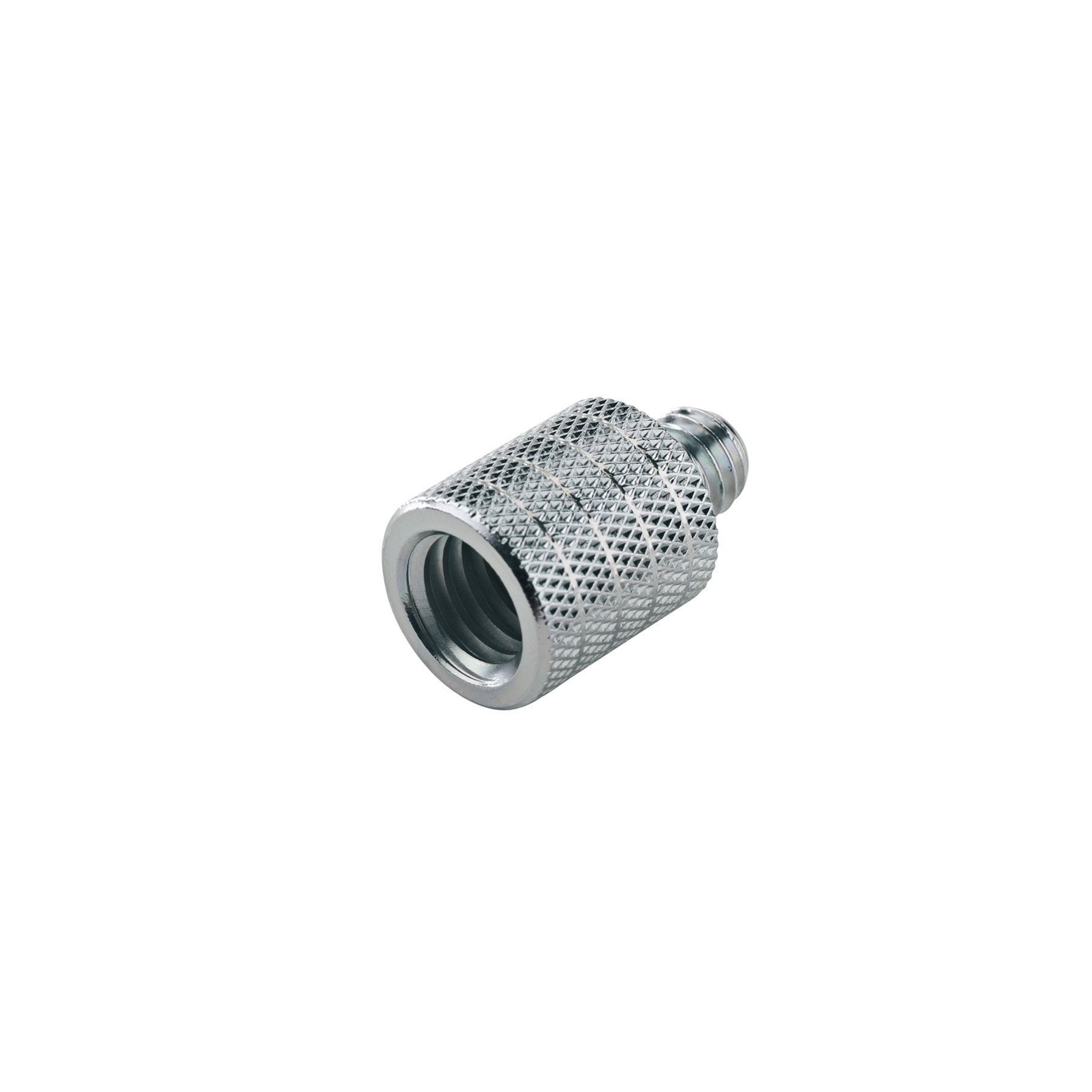 "KM21800 - Thread adapter 3/8"""" female t hread,5/8"""" 27 gauge male tr"