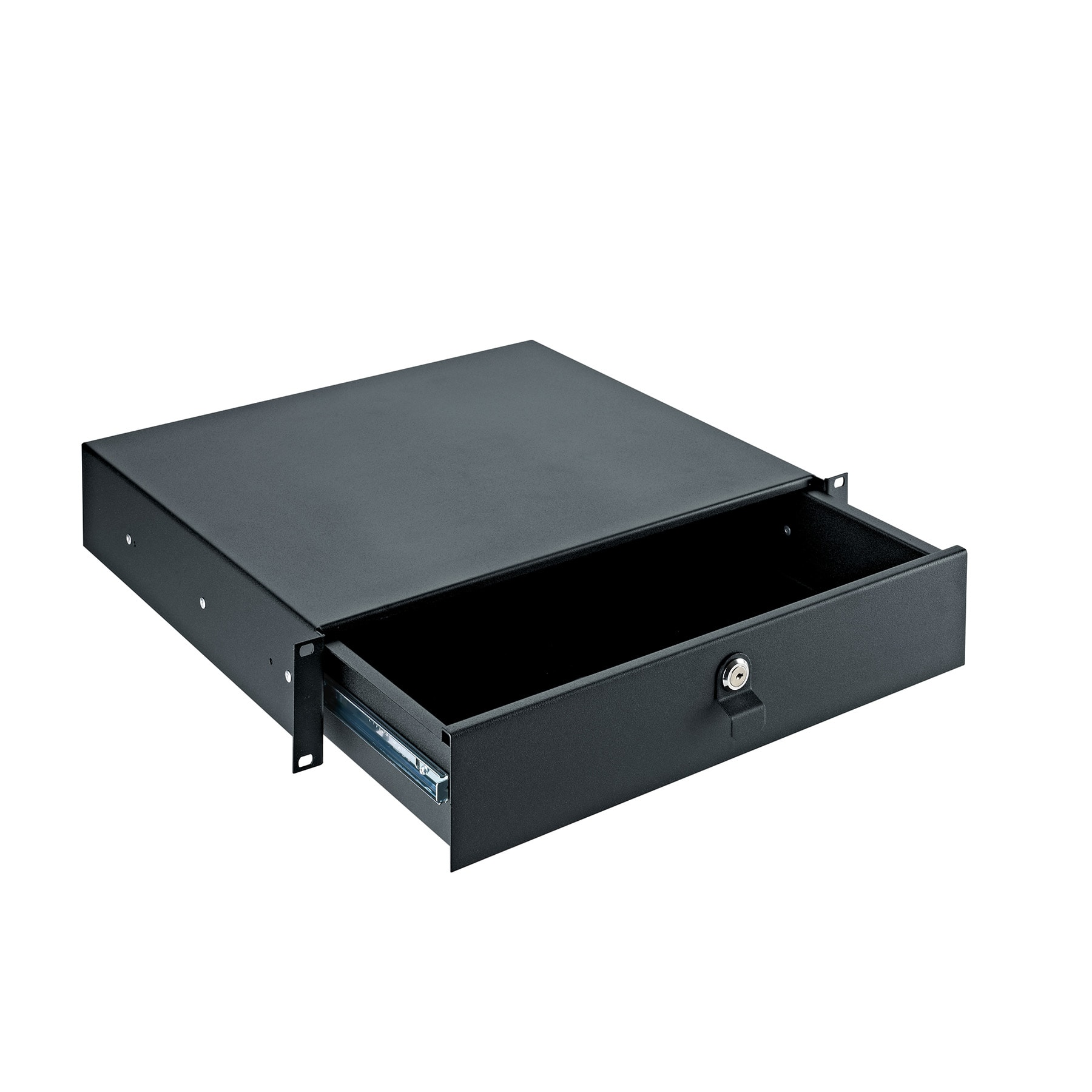"KM491_2 - 19"" rack drawers - with key lock"