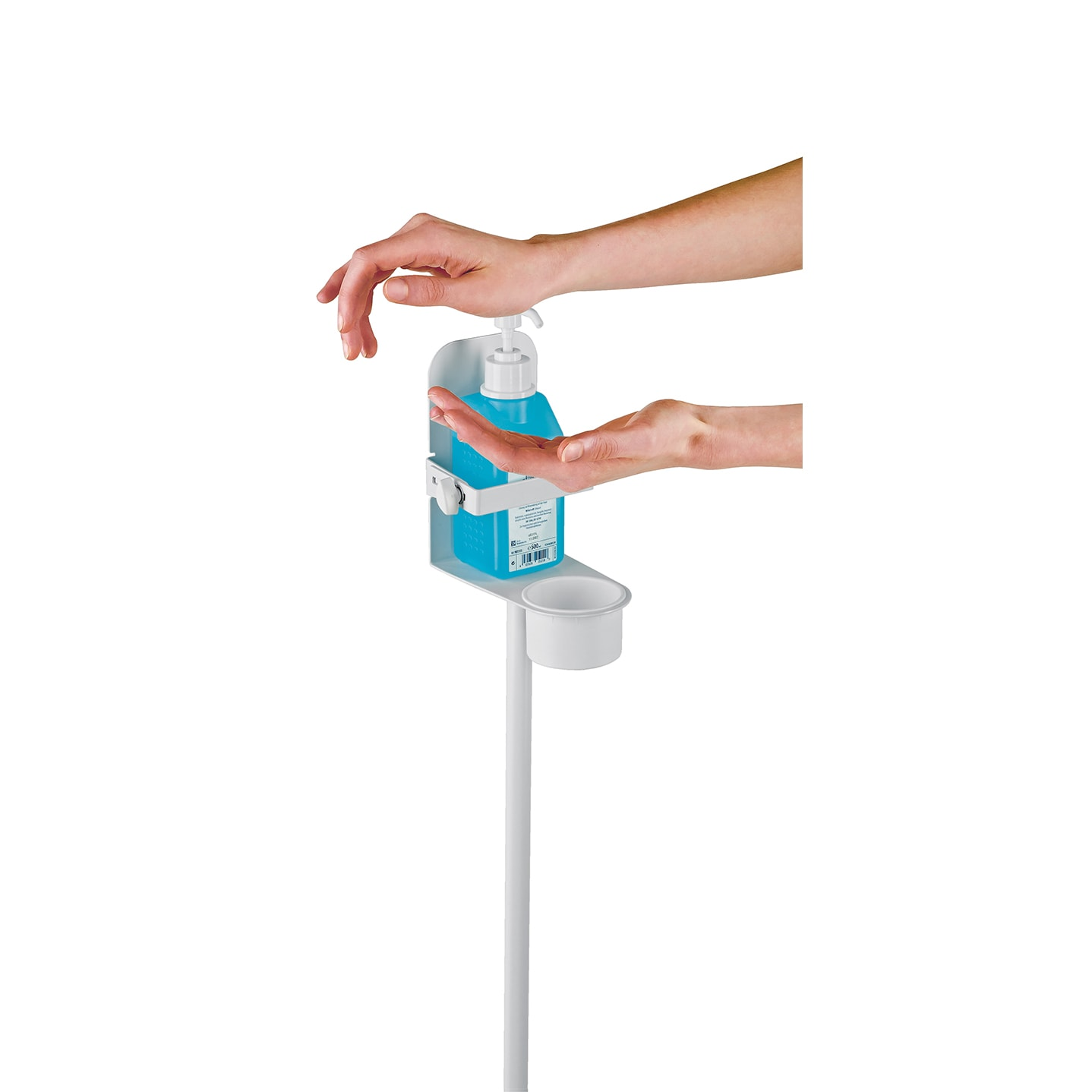 KM80310 - Disinfectant stand with bracket