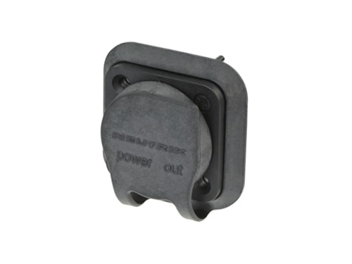 """NAC3FPX-TOP - Appliance outlet connector, 1/4"""" flat tab terminals"""