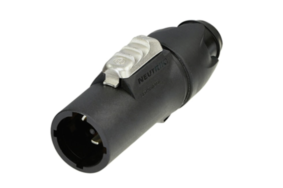 NAC3MX-W-TOP - powerCON TRUE1 TOP - 16 locking male cable connector