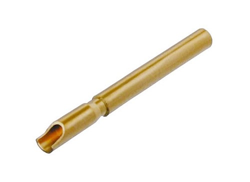 BS1 - Female solder contact, gold plated, for cable and chassis connectors