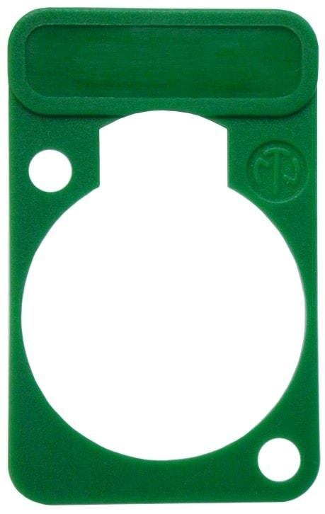 DSS-* - Colored lettering plate for D-shape-connectors