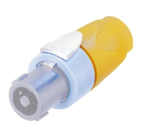 NL4FX - 4 pole cable connector, chuck type strain relief