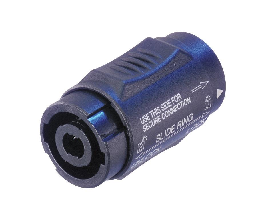 NL4MMX - Lockable 4 pole speakON adapter