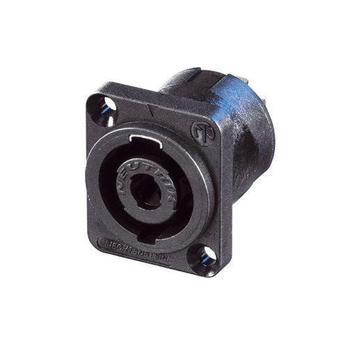 NL4MP-UC - 4 pole chassis connector for 40 A rms continuous, 50 A audiosignal duty cycle 50%