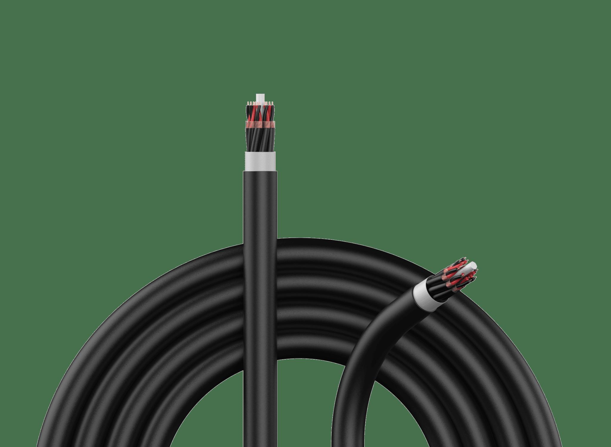 Signal multicore cables -