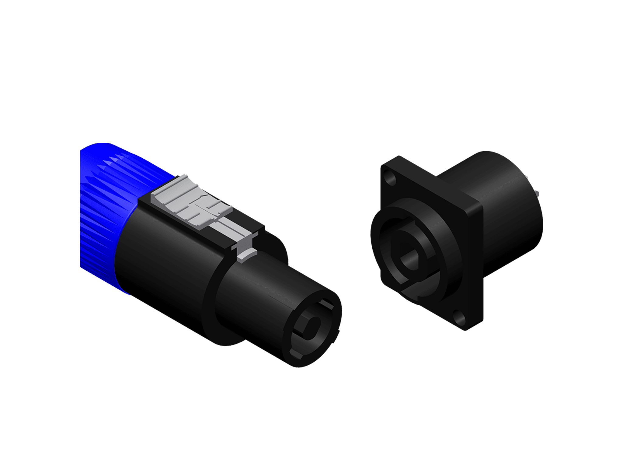 Speaker connectors -