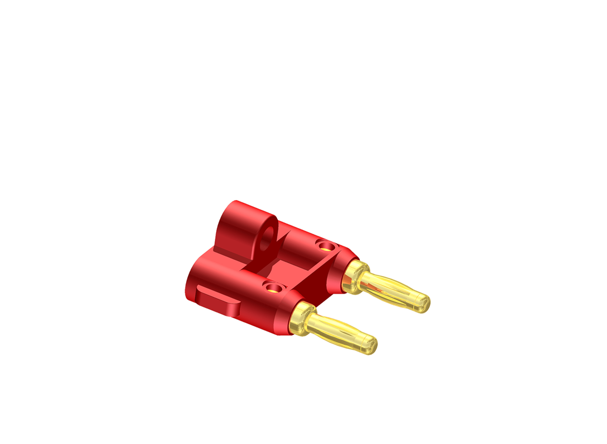 Speaker cable connectors -