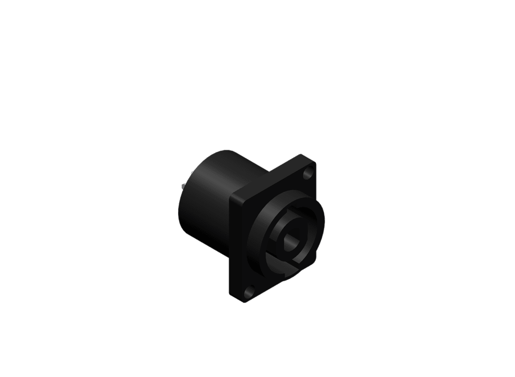 Speaker chassis connectors -